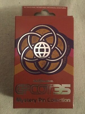 Disney New in Box  2-Pin Mystery Collection Box Epcot 35