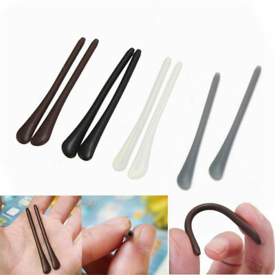 2/5Pairs Glasses Eyeglasses Spectacle Temple Tips End Arm Cover Ear Tubes