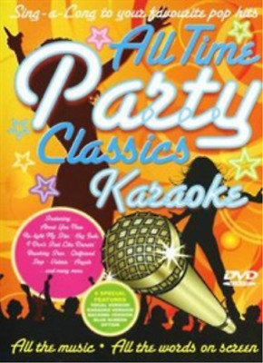 All Time Party Classics Karaoke  DVD NUEVO