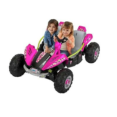 Girls Ride On Power Wheels Car Battery 2 Kids Electric Powered Toy