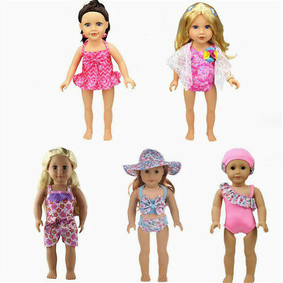 Swimwear Swimsuit Clothes for 18inch American Girl Our Generation Doll Summer