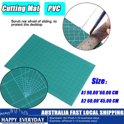 A1 A2 Thick 5-Ply Self Healing Craft Cutting Mat 2-Side Quilting Scrapbooking