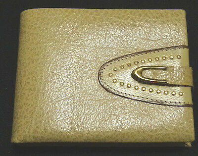 Vintage Amity Genuine Pigskin Wallet New Old Stock 50's 60's
