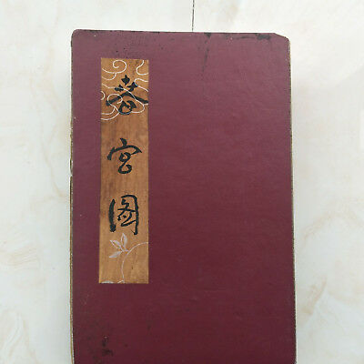 "CHINA FOLK TRADITIONAL PORNOGRAPHY PAINTING ALBUM FLODING BOOK""Couples Story""281"