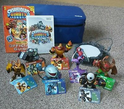 Nintendo Wii Skylanders Giants ..7 FiguresDisc.PortalStorage Bag u0026 & NINTENDO WII 14 Skylanders figures with carry bag - £30.99 | PicClick UK