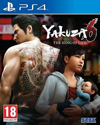Yakuza 6:The Song of Life Launch Edition PS4