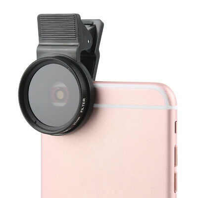 Universal 37mm CPL Filter Circular Polarizer Lens + Lens Cap For Smart Phone -ws