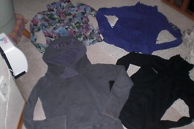 Lot of 3 Womans Bench Jackets and Pullover Hoodie sz L