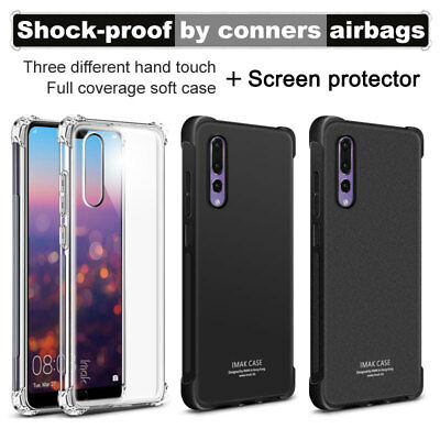 IMAK For Huawei P20 /Pro /Lite Full Cover Shockproof Clear Matte Soft TPU Case
