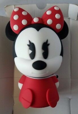 Disney Minnie Mouse Night Light Wall Plug In Lamp Silicone Soft Kids Girls Room