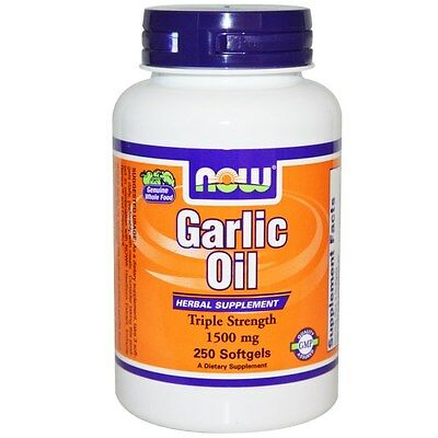 Now Foods, Garlic Oil, 1500 mg, 250 Softgels,