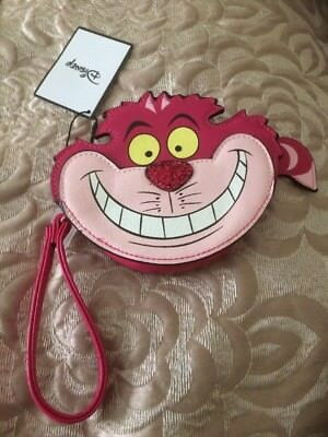 Primark Disney Alice In Wonderland Purse Cheshire Cat Purse BNWT Zip Coin Handle