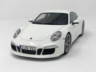 1:18 GT Spirit - 2012 Porsche 911/991 Carrera S Club Coupe White