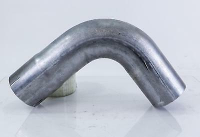 "3.5"" ID/OD Aluminized 90 Degree Exhaust Elbow - 10"" Arms"