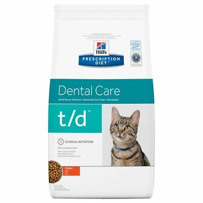 Hill's Prescription Diet Feline t/d Dental Care Chicken 3kg 5kg 10kg