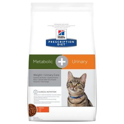 Hill's Prescription Diet Feline Metabolic + Urinary Dry Cat Food 4kg 8kg