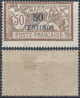 France Colony Morocco N°15 New With Original Gum Value