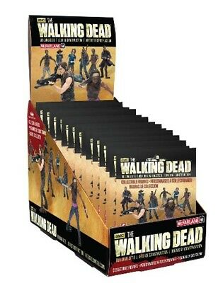 McFarlane Toys The Walking Dead Building Set - Blind Bag Display (24 Beutel)