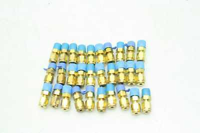 30 New Parker 2-2 FBZ-B CPI Male Connector Fittings / Brass / B-200-1-2 / 1/8""