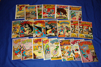 SUPERBOY Comic Lot Silver Bronze Age DC Key 21 Comics #106-194 Giant Annual #1