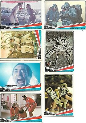 1976 SPACE:1999 TV Series Complete DONRUSS Trading Card Set of 66- EX/NM
