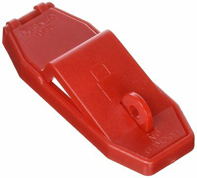 Panduit PSL-WS1A Toggle/Rocker  Switch Lockout, Red