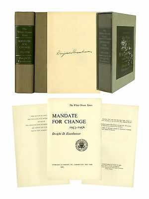 Dwight D. Eisenhower Signed Limited Edition of His Book