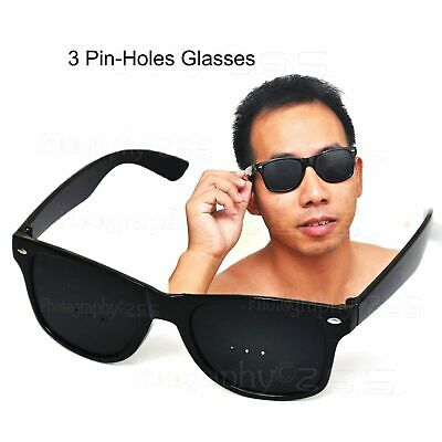 Vision Correction Eyesight Improve Care Exercise Pinhole Glasses Frame Eyewear
