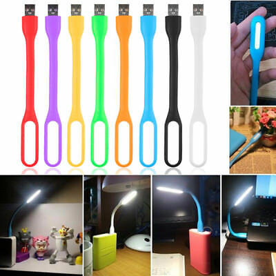 Usseful Flexible Mini USB LED Lights Reading Lamp For Computer Notebook Laptop