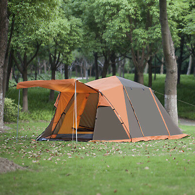 520x220x180cm Large 2-4 Person Tents Family Camping Hiking Car Tent Waterproof