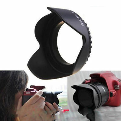 Durable 52mm Flower Petal Camera Lens Hood for Nikon Canon Sony 52mm Lens Camera