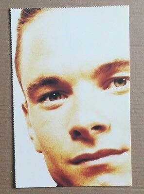 TONY MORTIMER / EAST 17 Original Vintage Smash Hits Magazine Postcard