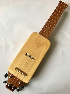 "Mini Sopran Ukulele Pocket Travel Uke Ashbury ""lonely Player"""