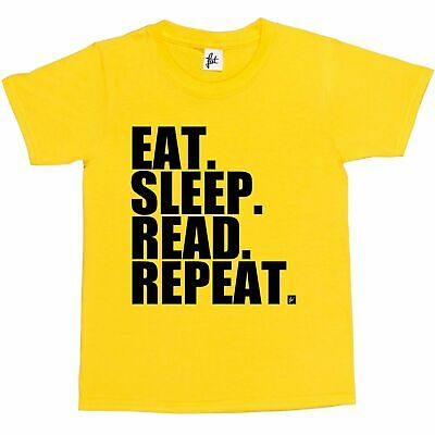 Eat. Sleep. Read. Repeat. Novels Kids Boys / Girls T-Shirt