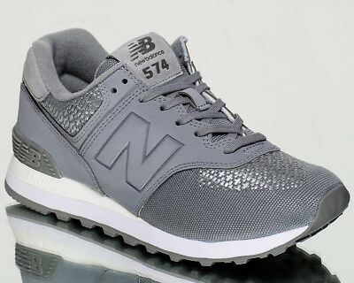 best sneakers 77d16 8341a NEW BALANCE WMNS 574 NB women lifestyle sneakers NEW silver grey steel  WL574-FAB