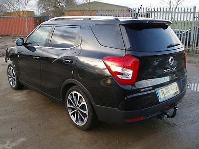 2016 16 Ssangyong Tivoli XLV 1.6TD ( s/s ) ELX DAMAGED REPAIRABLE SALVAGE