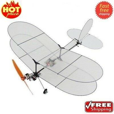 ⟦New⟧ TY Model Black Flyer V2 Carbon Fiber Film RC Airplane With Power System