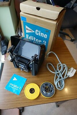Boxed Boots Cine Editor 3 For Super 8 Film