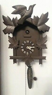 German Black forest style cuckoo clock,vintage and collectable,quarter hour call