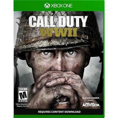 Call of Duty: WWII Xbox One Game is Brand New Factory Sealed and Free Shipping