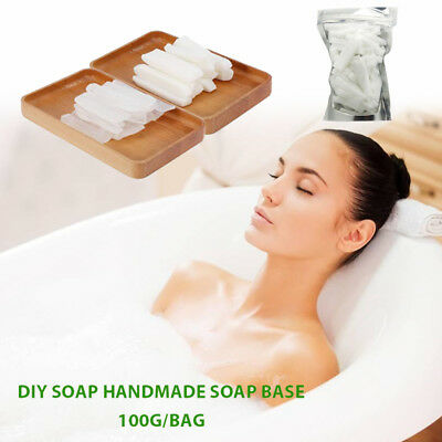 Handmade Soap Base Hand Making Soap Saft 100g Transparent Clear Raw Materials
