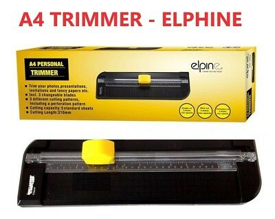 Personal Photo and Paper Trimmer Cutting Length 310mm  A4 PHOTO TRIMMER BRANDED