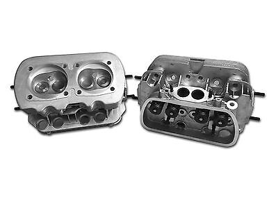 NEW PAIR VW 1600 DUAL PORT CYLINDER HEADS w/DUAL SPRINGS  94mm BORE