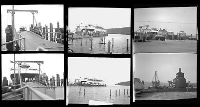 Lot of 6! Ferry Ferries LAKE CHAMPLAIN NY VT New York Vermont Photo Negatives 11