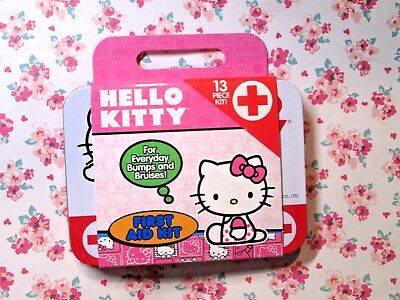 NEW - Hello Kitty 13-piece First Aid Kit (1 Pack)