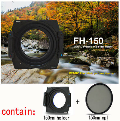 Benro 150mm FH150S2 Square Filter kit Holder For SIGMA 20mm f/1.4 Art+150mm cpl