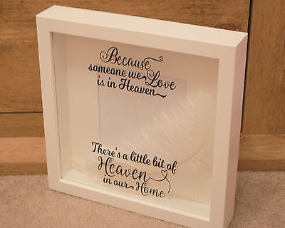 Because Someone We Love Is In Heaven Frame Gift Sympathy Birthday