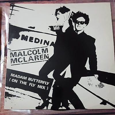 """Malcolm McLaren Madam Butterfly (On The Fly Mix) 1984 Rock 12"""" Vinyl Single"""