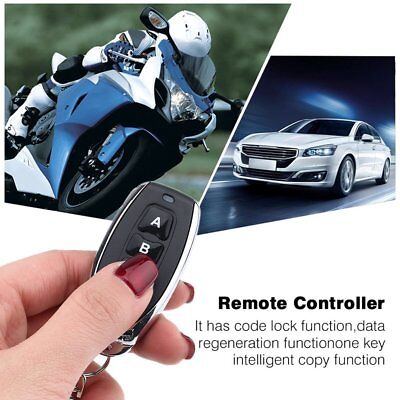 433MHz Wireless RF Remote Control Key Garage Gate Door Transmitter 3 Channel QD