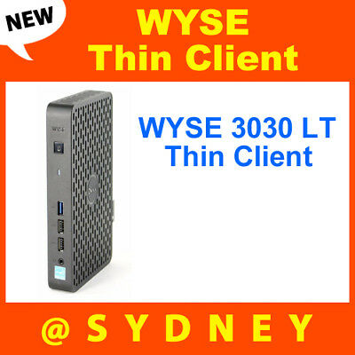 NEW DELL Wyse 3030 LT Thin Client: DUAL CORE - 2GB RAM - 4GB FLASH - ThinOS